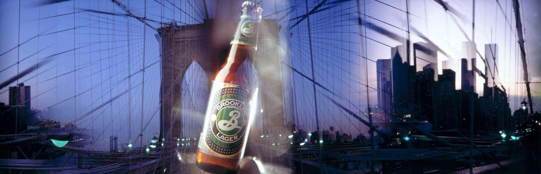 Brooklyn Lager - Brooklyn Bridge
