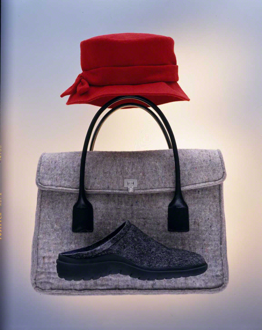Felt Hat Shoe Bag