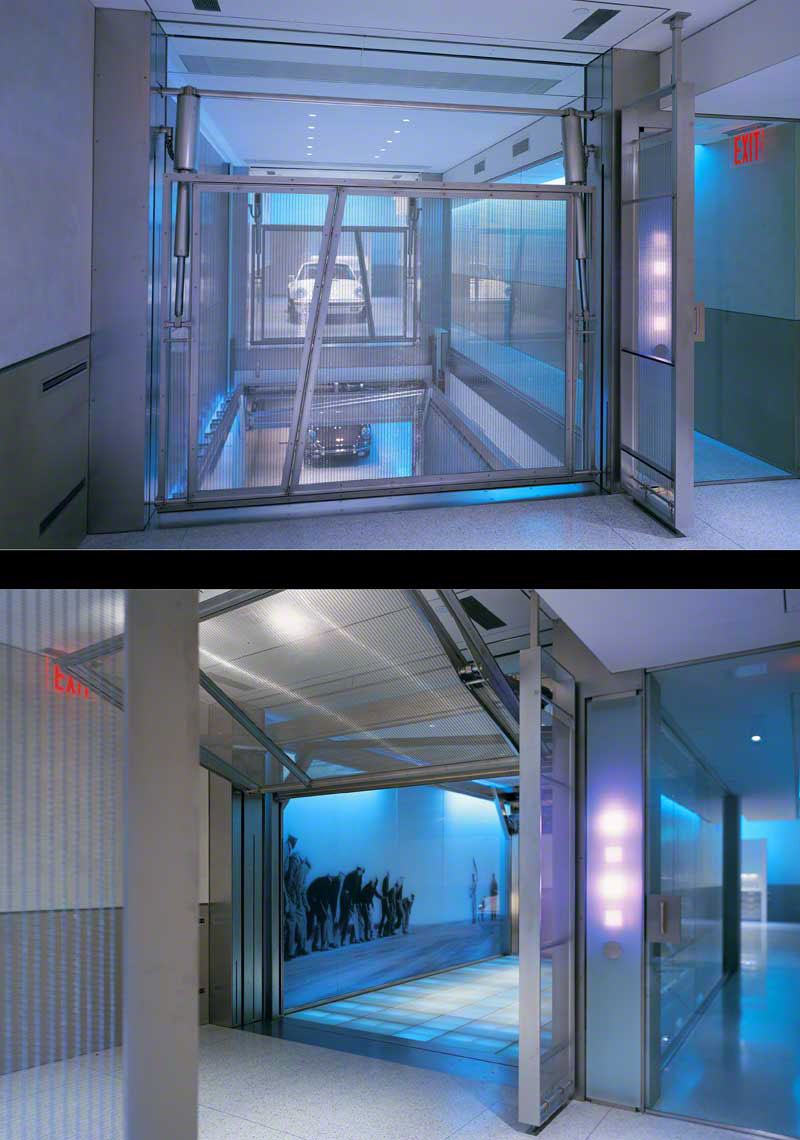 Glass Elevator - Garage 2